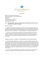 Comment letters american benefits council friday july 21 2017 letter to employee benefits security administration in response to rfi regarding the fiduciary rule and prohibited transaction altavistaventures Images